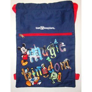 Disney backpack and free boys' Tee size XS